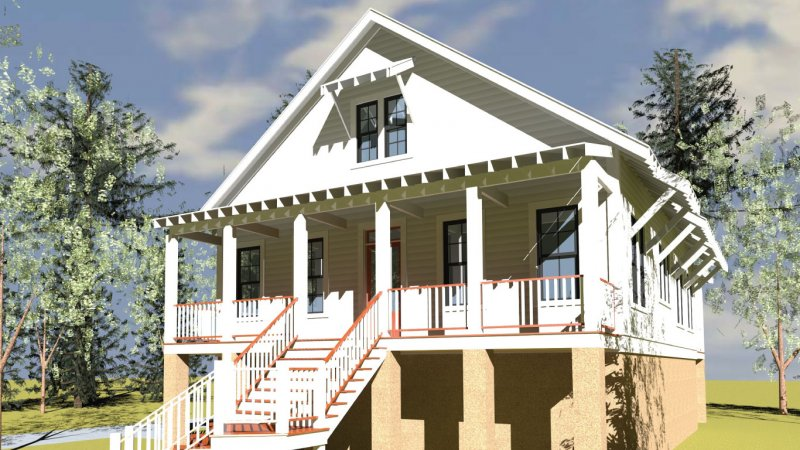Jjd lowcountry cottage insulsteel of south carolina llc for South carolina low country house plans